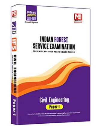 IFS Mains -2020: Civil Engg. Prev Yr Solved Paper Vol-1 - Made Easy