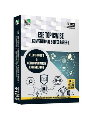 ESE 2020 Mains Examination Electronics & Comm. Engg Conv  Paper I - IES Master