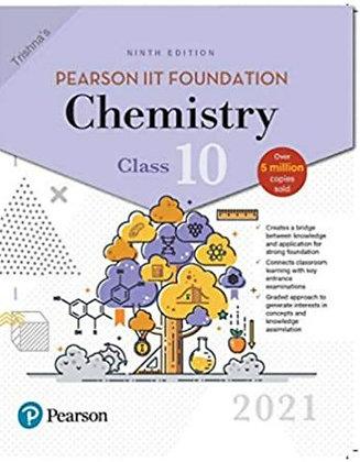 Pearson IIT Foundation Chemistry Class 102021 Edition
