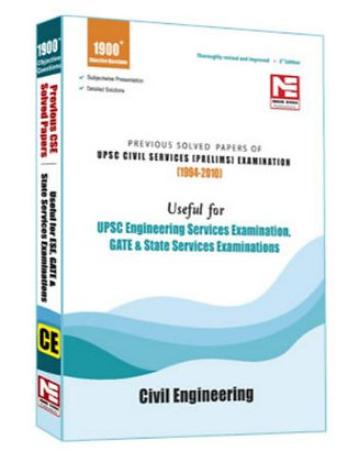 UPSC Civil Services Pre Exam: Civil Engineering - Made Easy