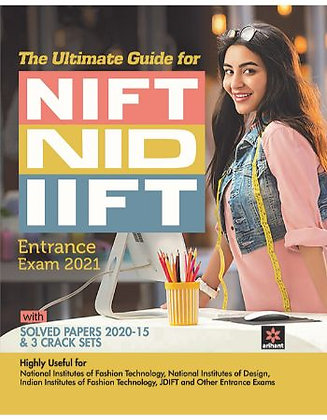 Guide for NIFT/NID/IIFT 2021 - Arihant