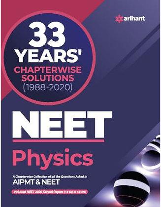 33 Year's Chapterwise  AIPMT & NEET Physics 2021 - Arihant