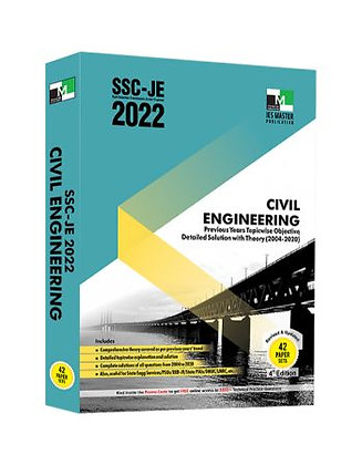 SSC-JE 2022: Civil Engg. Obj. Solved Papers - IES Master