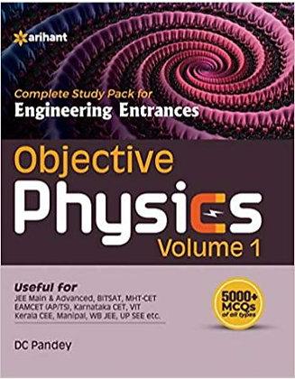 Objective Physics Vol 1 for Engineering Entrances - Arihant