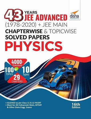 43 Years JEE Advanced (1978 - 2020) Physics - Disha