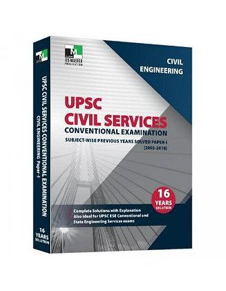 Civil Engineering - UPSC Civil Services Conv. Exam Paper 1 - IES Master