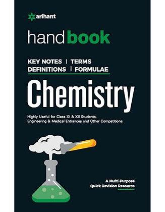 Handbook of Chemistry - Arihant