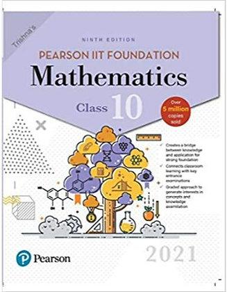 Pearson IIT Foundation Mathematics Class 102021 Edition