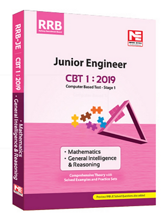 RRB JE CBT-1: Mathematics, General Intelligence (Made Easy)