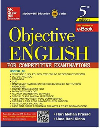 Objective English for Competitive Exam by Hari Mohan Prasad - TMH