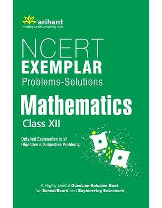 NCERT Examplar Mathematics Class 12th - Arihant