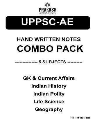UPPSC CIVIL Engg. Hand Written Notes