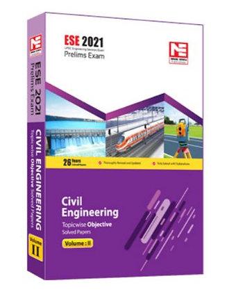 ESE 2021: Preliminary Exam: Civil Engg. Obj Vol-2 - Made Easy
