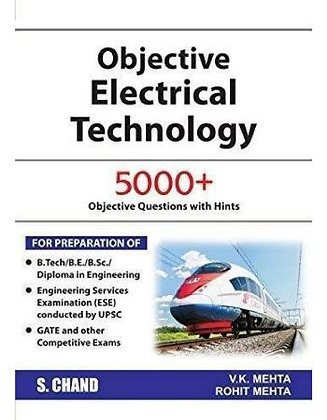Electrical Engineering: 5000+ Objective - VK Mehta / Rohit Mehta