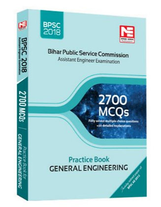 BPSC(AE) : 2700 MCQs Prac. Book Gen.Engineering (Made Easy)