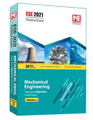 ESE 2021: Preliminary Exam: Mechanical Engg. Vol-1 - Made Easy