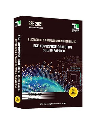 ESE 2021: Preliminary Exam:  Electronics & Comm. Engg. Obj Vol-2 - IES Master
