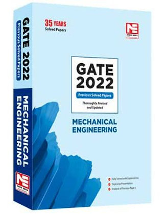 GATE-2022: Mechanical Engg. Prev. Yr Solved Papers - Made Easy