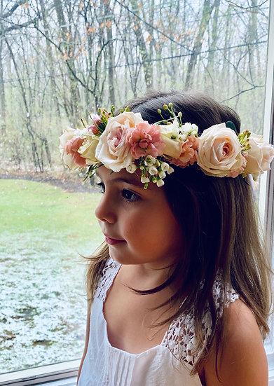 child floral crown