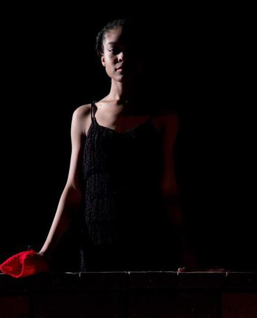 """Antigone"" Role: Eurydice Connor Augustine Photography"