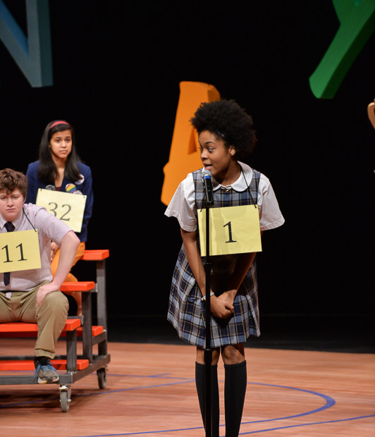 """""""The 25th Annual Putnam County Spelling Bee"""" Role: Marcy Park Matthew Wright Fig Tree Photography"""
