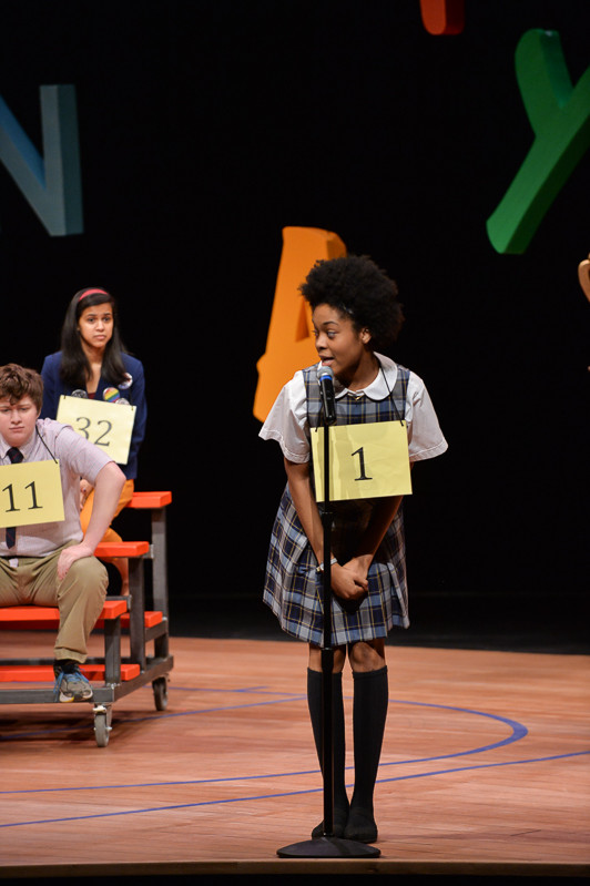 """The 25th Annual Putnam County Spelling Bee"" Role: Marcy Park Matthew Wright Fig Tree Photography"