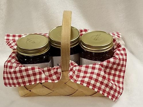 3 Jar Gift Basket!