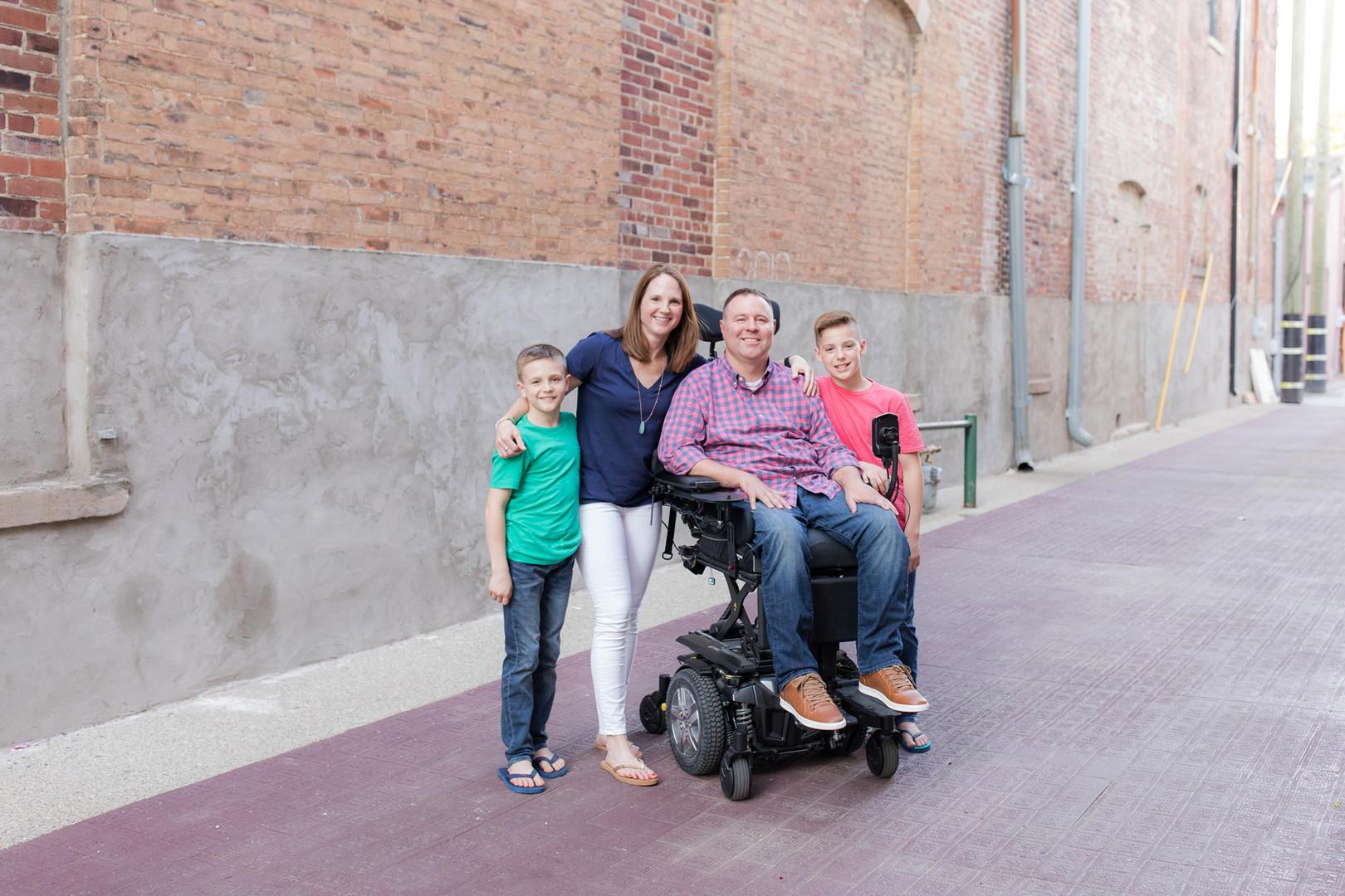 Jeff Homan & Family