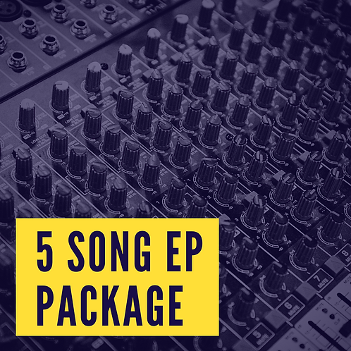 5 SONG EP PACKAGE
