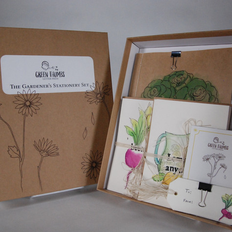 Green Thumbs Letter Press