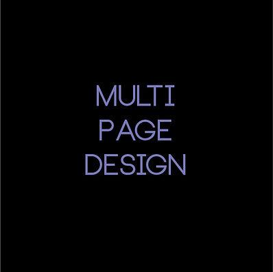 Multi-Page Design