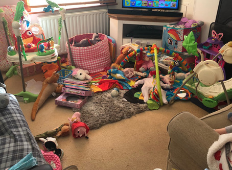 Thrifty Organising ideas for a clean kids room