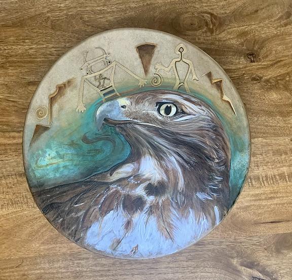 Custom Drum Paintings
