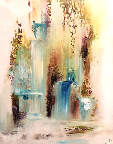 "#31 ""Tranquility""- sold private collection"