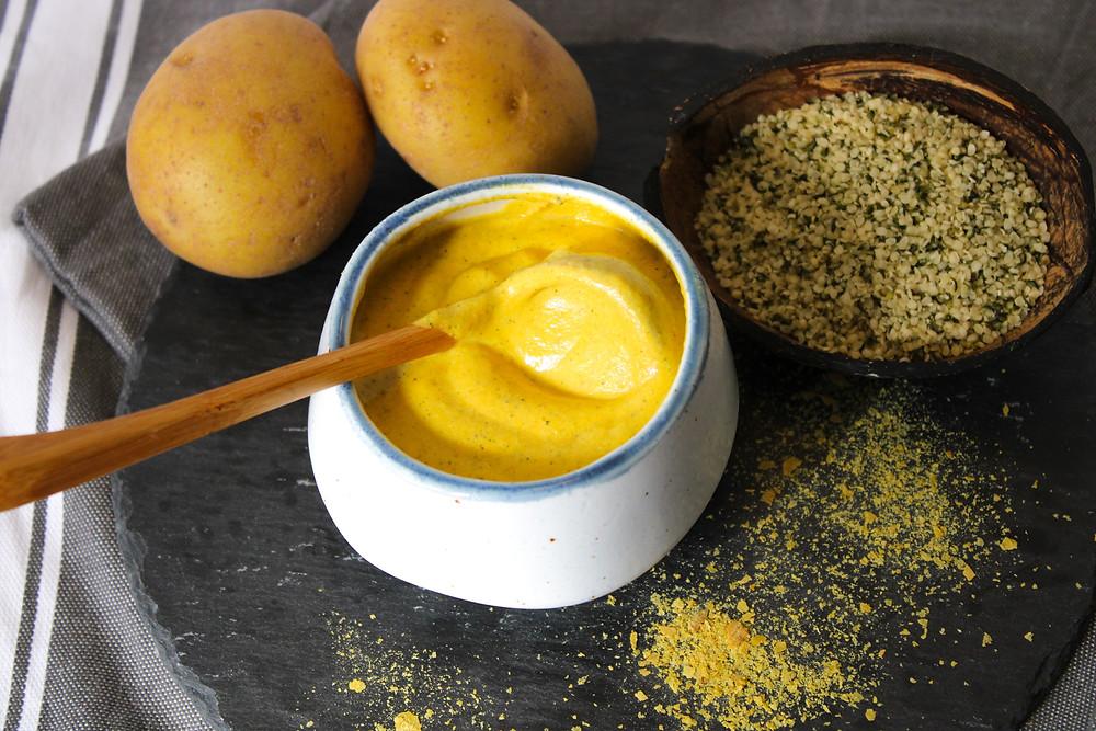 vegan cheese sauce nut-free