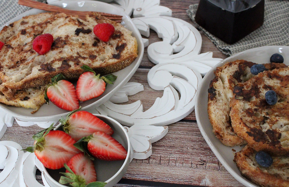 healthy whole food french toast