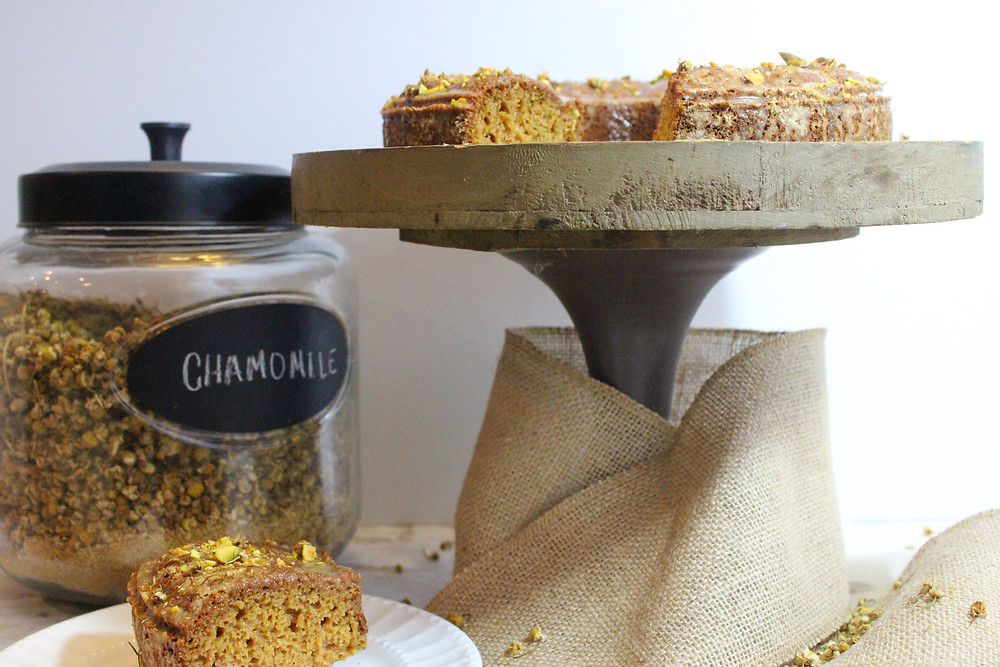 Whole Wheat Chamomile Tea Bundt Cake