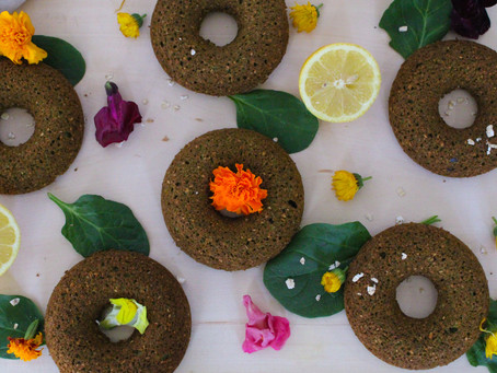 Green Smoothie Donuts