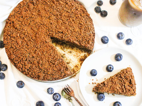 Vegan Coffee Crumb Cake (gluten-free)