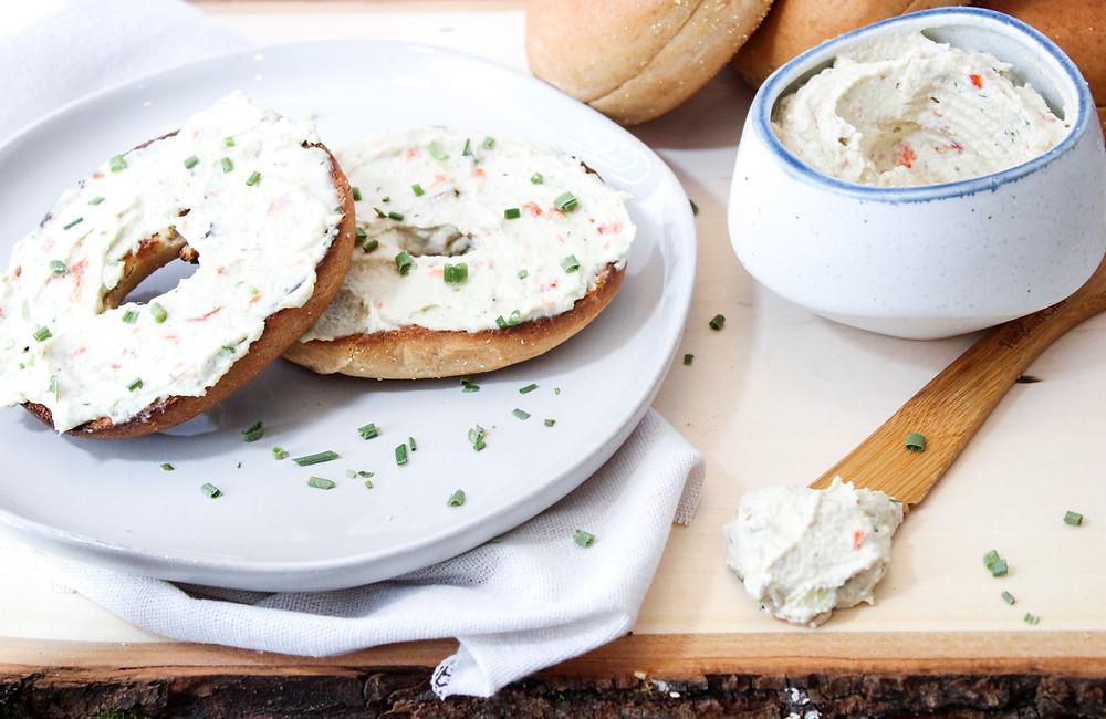 Eat Your Healings vegan cream cheese