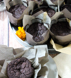 Chocolate Stout Muffins