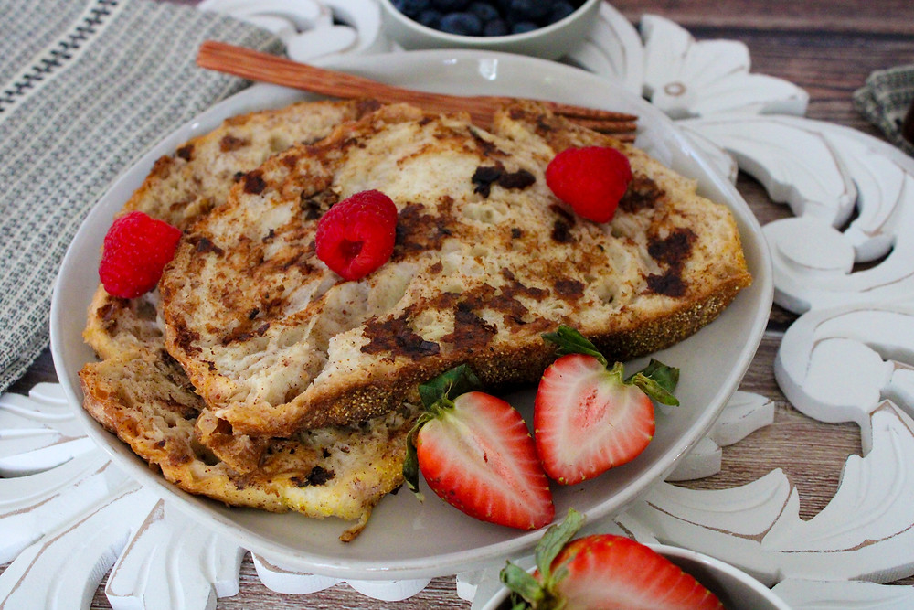 oil-free sugar free french toast