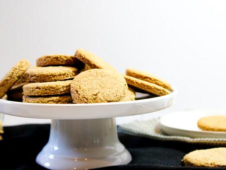Oat Cookies (Gluten-free & Vegan)