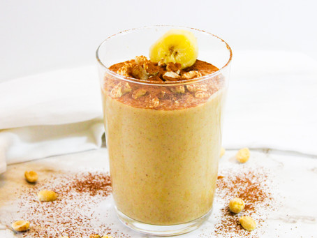 Healthy Peanut Butter Banana Smoothie