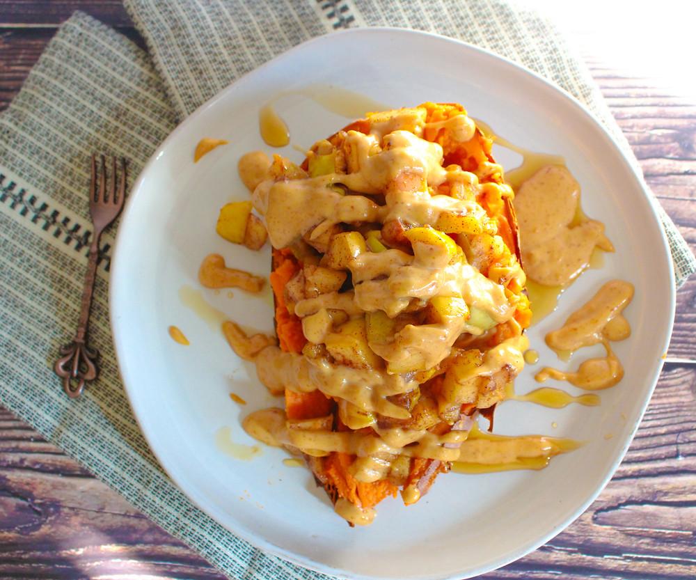 vegan sweet potato breakfast
