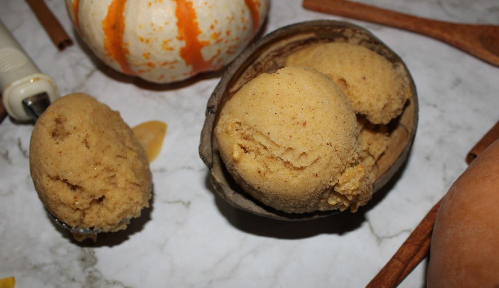 plant-based pumpkin ice cream