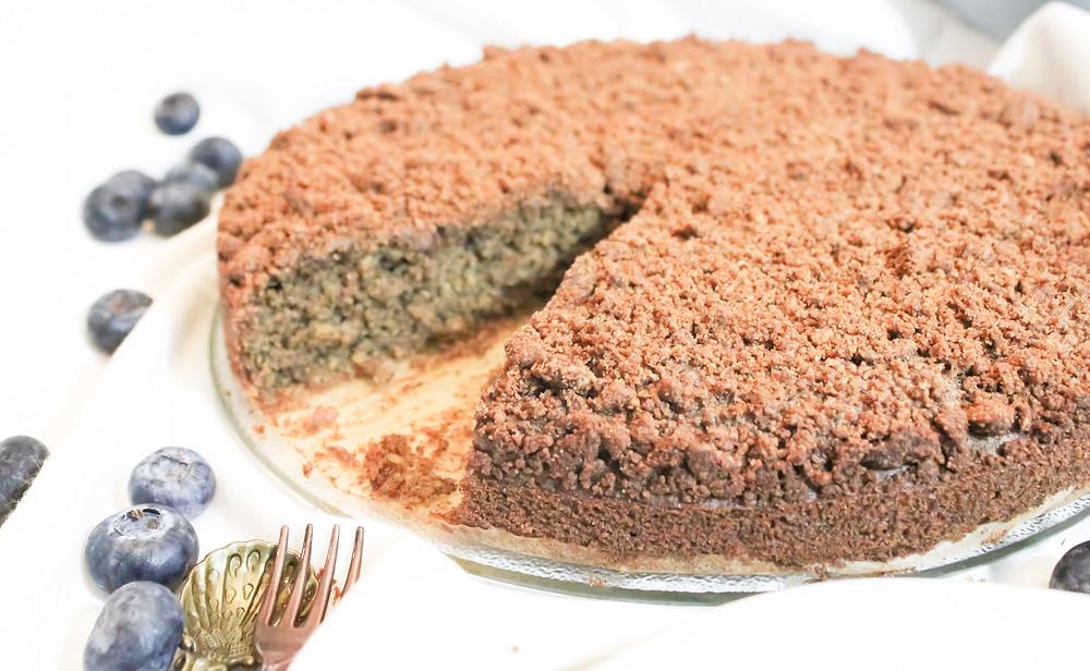 gluten free vegan crumb cake