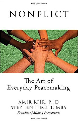 dr amir kfir book nonflict the art of everyday peacemaking conflict resolution