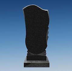 памятник чёрный гранит