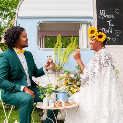 Our Wild Flower styled shoot has been featured as one of Magpie Weddings' top blogs of 2019!